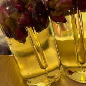 dry face remedy - dozen roses nourishing oil