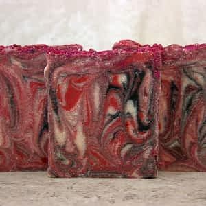Poppy Raspberry Soap